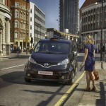 Nissan NV200 London Taxi llamado Hackney Carriage/Black Cab 08