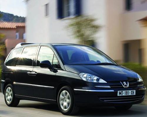 El Peugeot 807 reafirma su elegancia en Europa