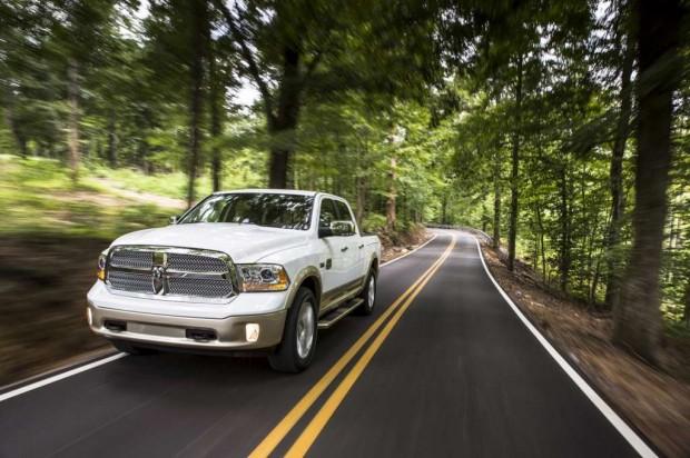 Ram 1500 V6  2013, más económica y liviana que el modelo anterior