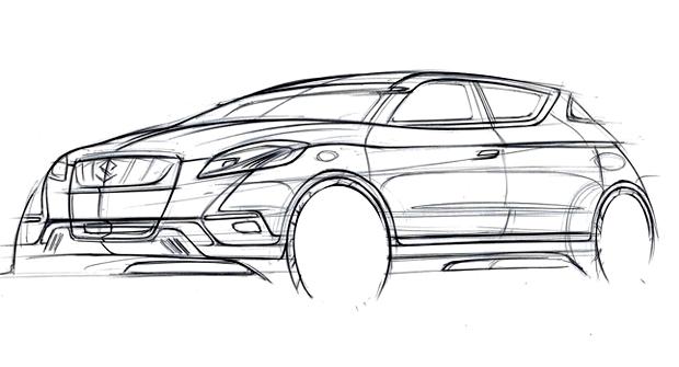 Suzuki S-Cross, avances de su presentación