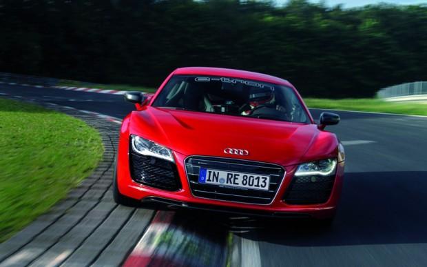 Audi R8 e-tron en Nürburgring