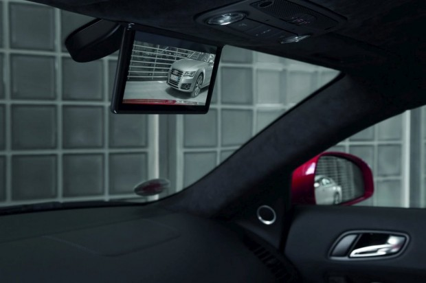 Espejo Retrovisor Digital en el Audi R8 e-tron