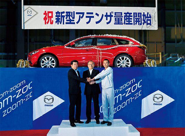 Nuevo Mazda6, inició su producción