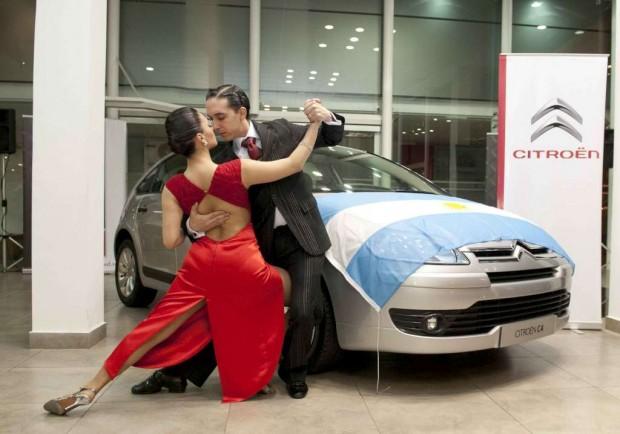 Citroën inaugura sus ciclos de Tango en los concesionarios oficiales