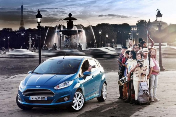 Ford Fiesta 2013 con motor Ecoboost 1.0 litros