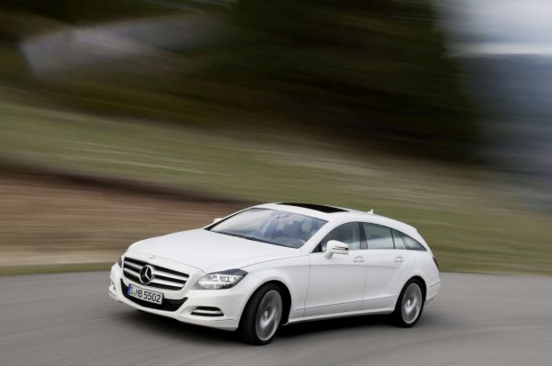 Mercedes-Benz CLS Shooting Brake 2013 Sorprendentemente diferente