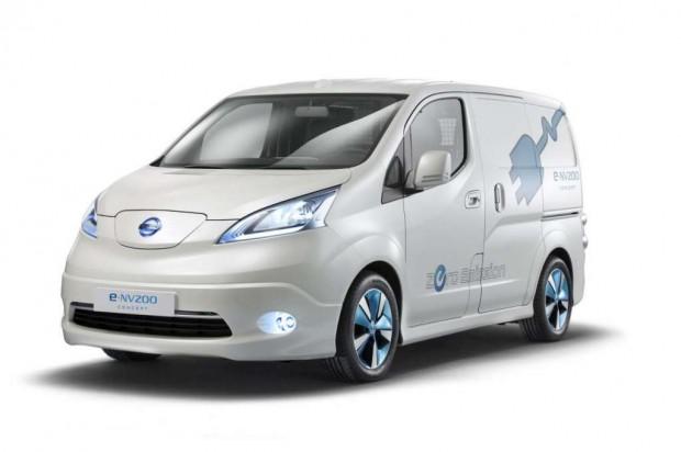Nissan e-NV200 panel van concept presentado en la feria de Hanover 2012