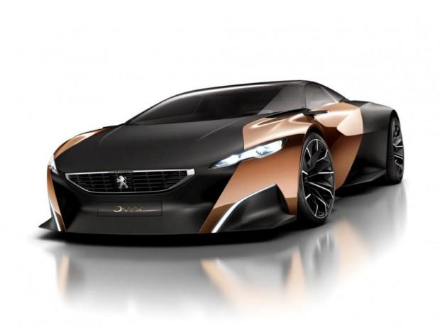 Peugeot Onyx concept, primeras fotos oficiales