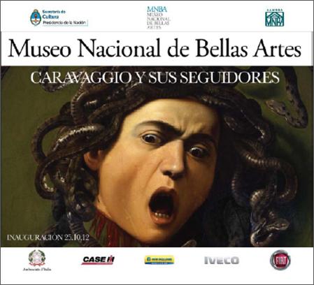 """""""Caravaggio y sus seguidores"""" muestra en el  Museo Nacional de Bellas Artes"""