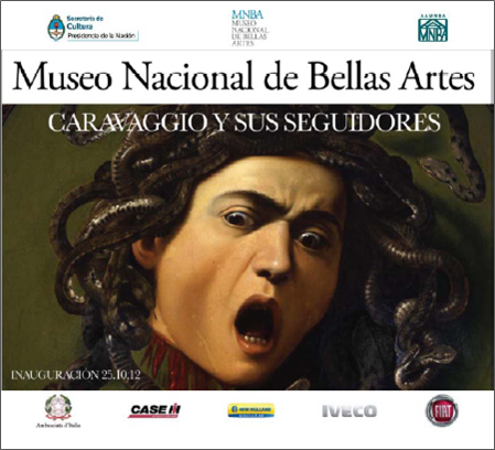"""Hoy, apertura oficial de la muestra  """"Caravaggio y sus seguidores"""""""