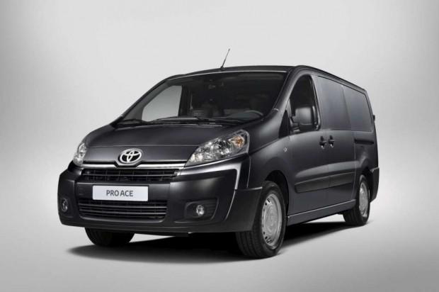 Toyota ProAce modelo 2013 para el mercado europeo