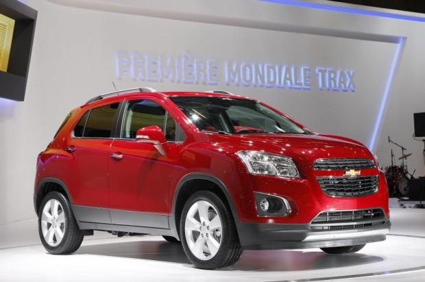 Chevrolet Trax, se presenta en el Salón de París