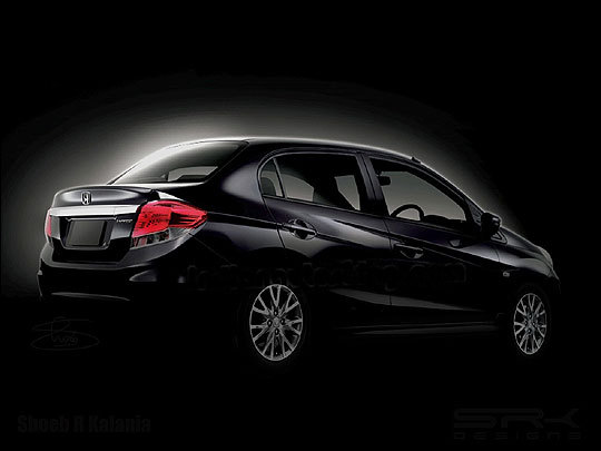 Honda Brio Sedan, primer teaser en video
