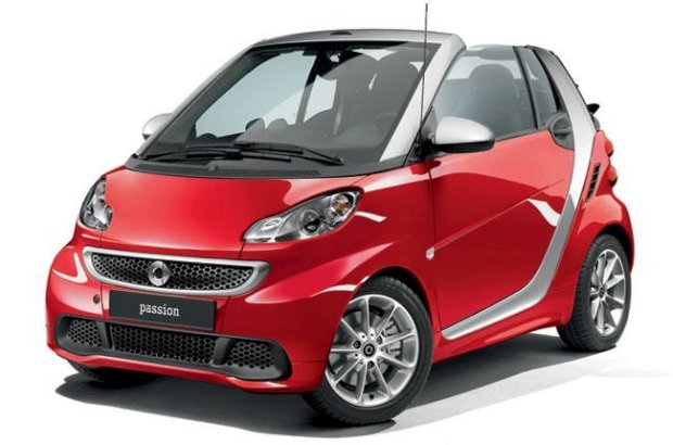 Mercedes-Benz presenta el Smart Sharpred y un facelift del Smart Passion