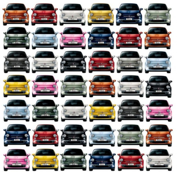 La unidad 1 millón del  Fiat 500 salió de la línea de producción