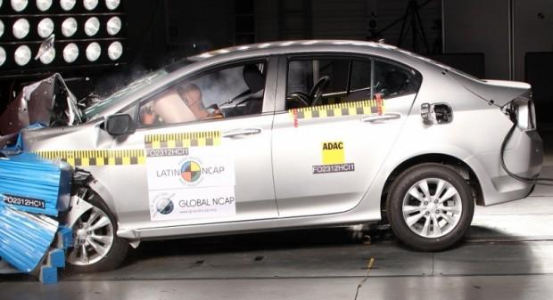 El Honda City 2013 fue designado como uno de los modelos más seguros del año