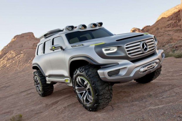 Mercedes Benz nos muestra su Ener-G-Force
