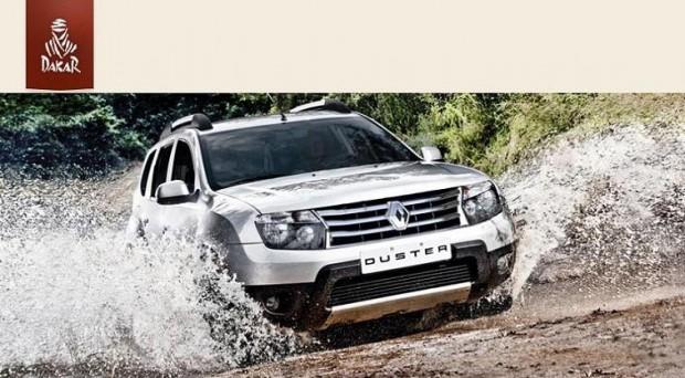 El Renault Duster estará presente en el Dakar 2013