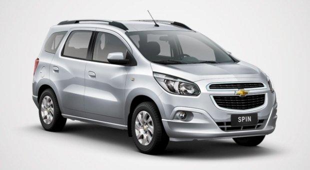 Chevrolet Spin, Ficha Técnica