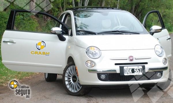 Fiat 500,  Auto de Oro en Seguridad 2012