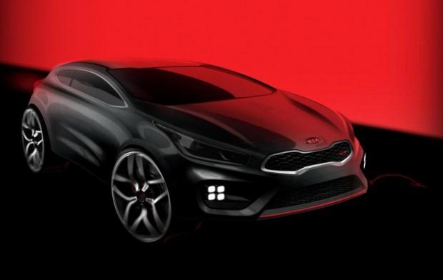 Kia divulga un nuevo Teaser del Kia Pro_cee´d GT