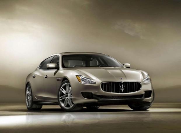 Maserati  Quattroporte 2013, los motores