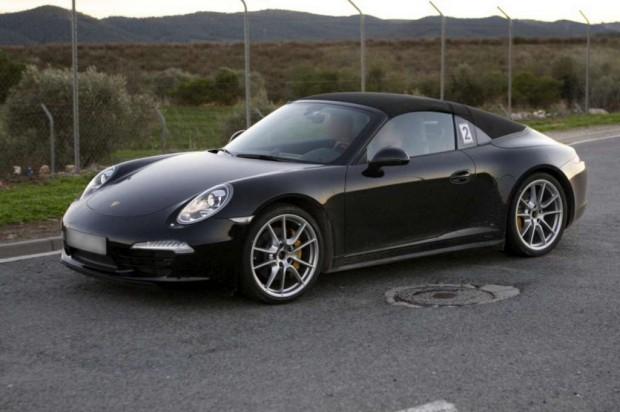 Porsche 911 Targa  2013, fotos espías