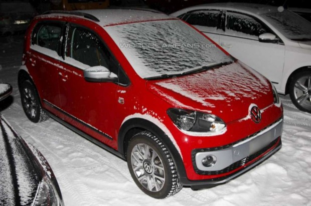 Volkswagen Cross Up! detectado sin camuflaje