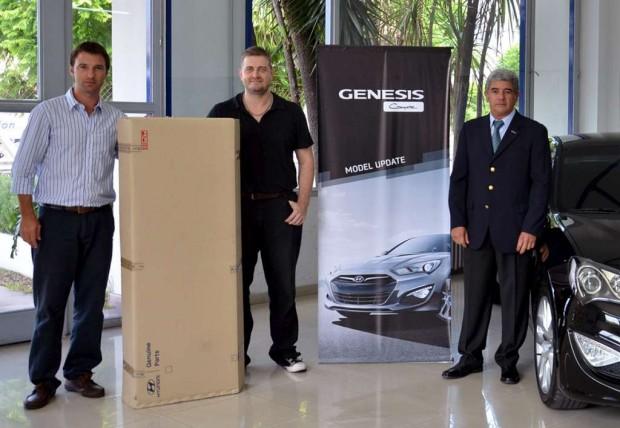 Hyundai  alcanzó las 1.000 Genesis Coupe vendidas en Argentina.