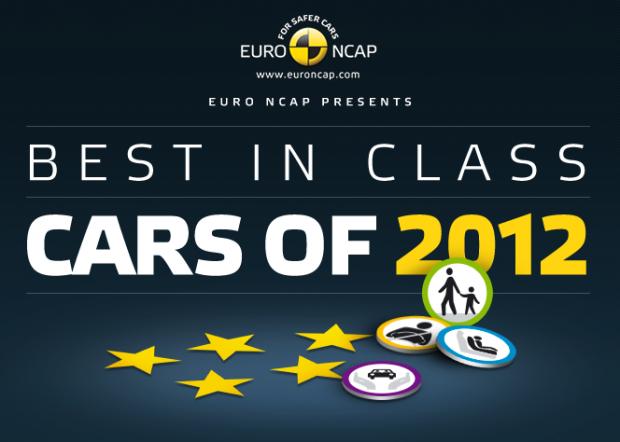 Los 8 autos mas seguros de 2012 elegidos por la EuroNcap