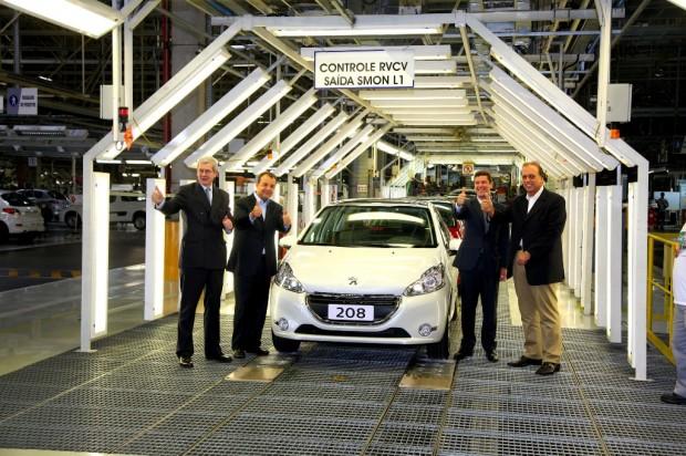 Peugeot 208, inicio de producción en Brasil
