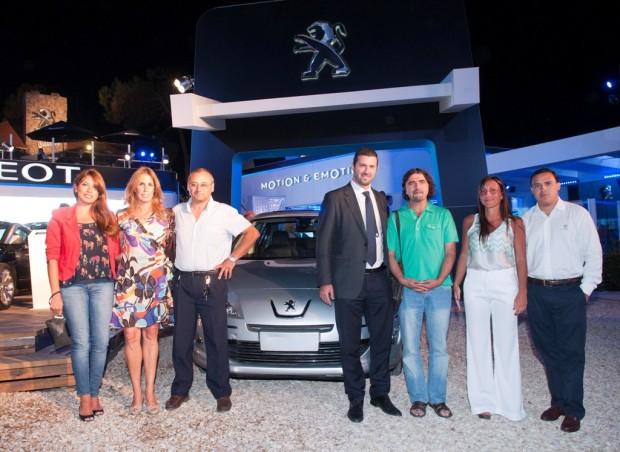Peugeot donó un 408 en Summer By Peugeot