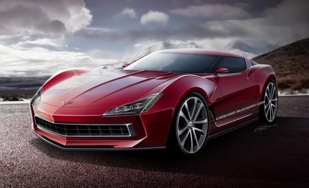 Nuevo Chevrolet Corvette C7 2014 en el Salón de Detroit