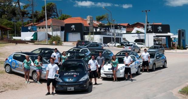 Peugeot transportó a 35.698 pasajeros en Pinamar con #207CompactLevanta