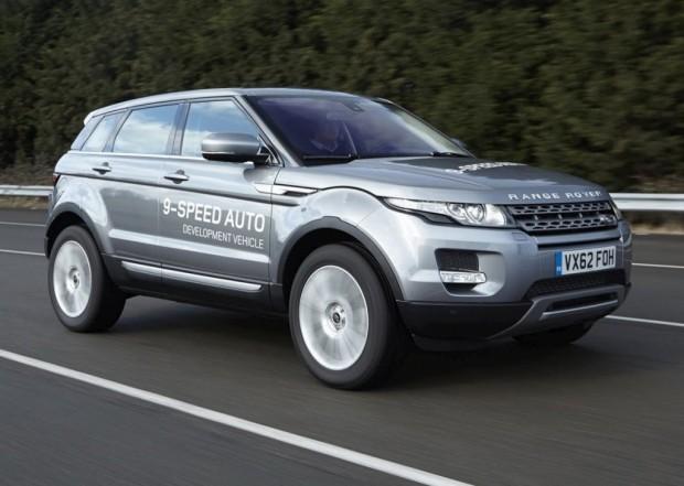 Land Rover, Presenta su Caja de Cambios de 9 Velocidades