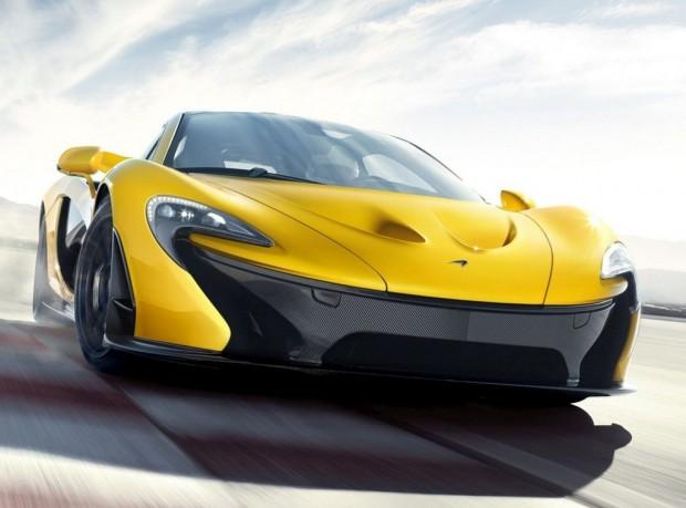 McLaren P1, Modelo de Producción