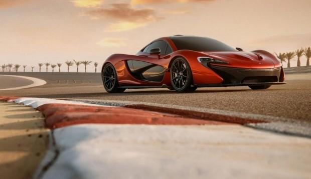 McLaren P1 desde Bahrain