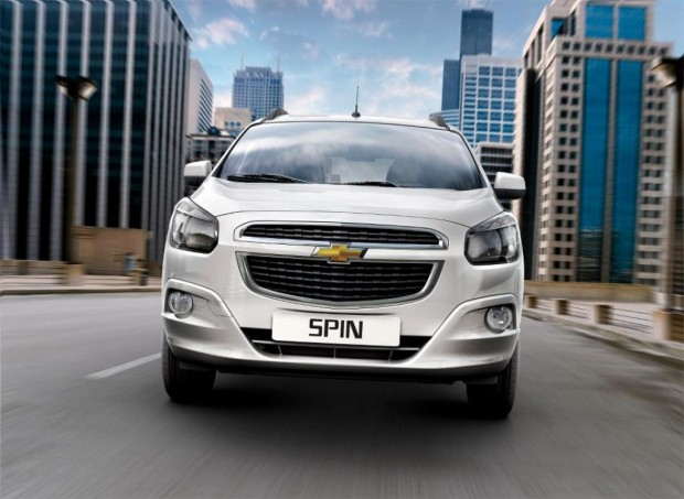 Chevrolet Spin Diesel, disponible a partir de Abril