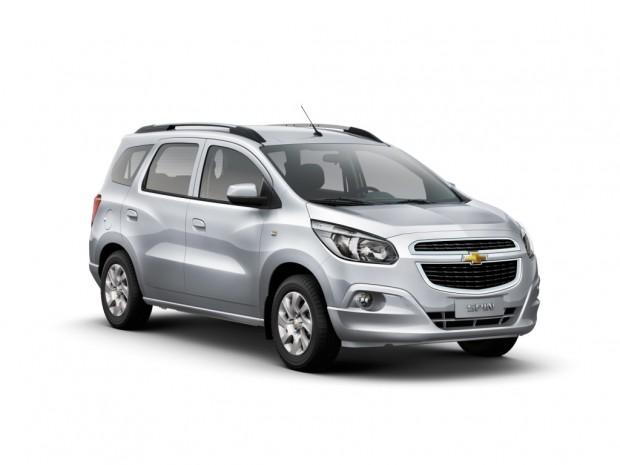 Chevrolet Spin Diesel disponible en Argentina desde $124.810