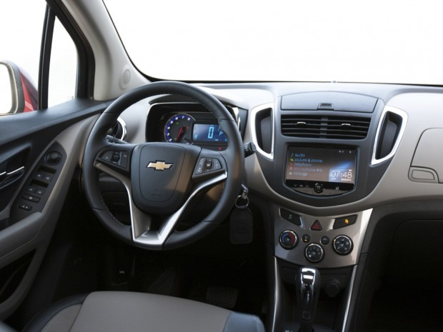 2013 Chevrolet Trax With Three Engine Options.
