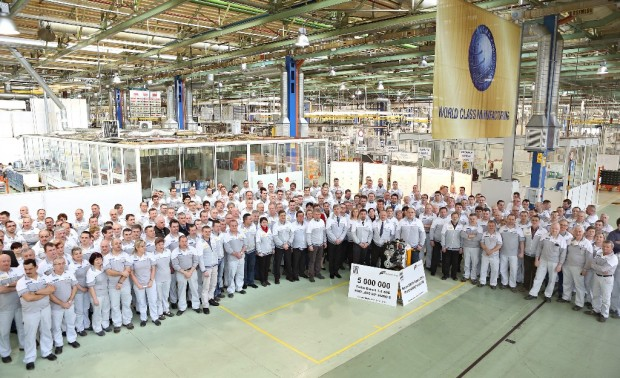 Fiat alcanza los 5 millones de unidades producidas de motores 1.3 Multijet