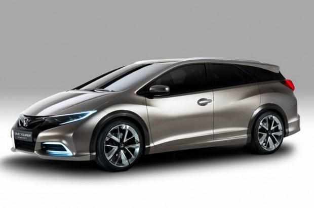 Honda Civic Tourer Concept, primeras imágenes oficiales