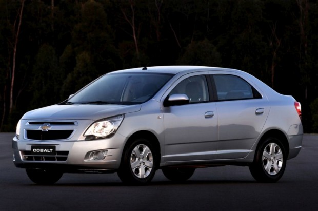El Chevrolet Cobalt será presentado el 19/3 en Argentina