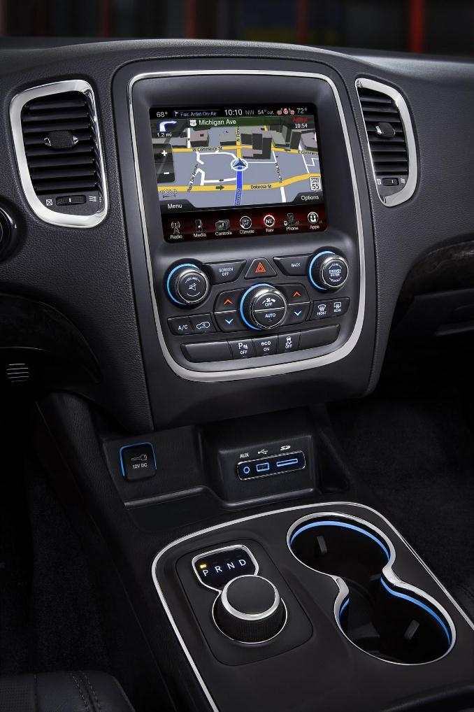 Dodge Durango 2014 7 Interior Mundoautomotor