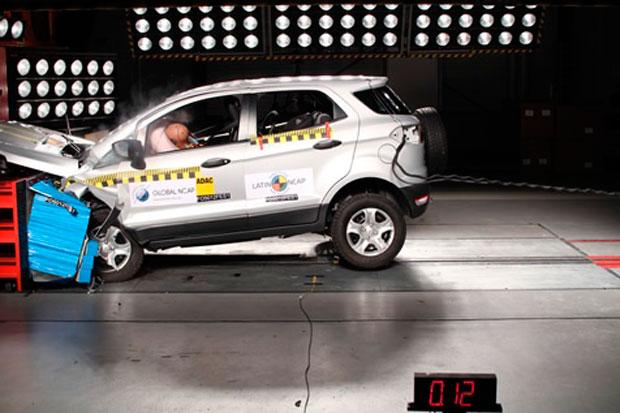 Ford EcoSport, 4 estrellas en protección de adultos y 3 en la protección de los niños según LatinNcap