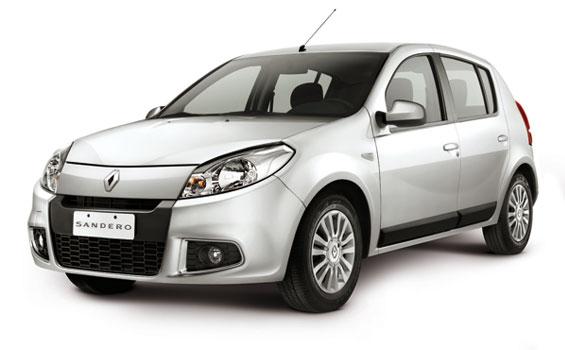 Renault Logan y Sandero con ABS y Airbags de serie en todas las versiones