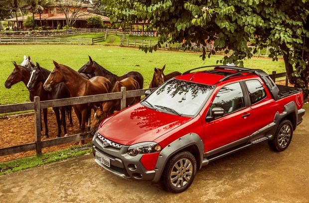 Fiat Strada serie especial Mangalarga Marchador