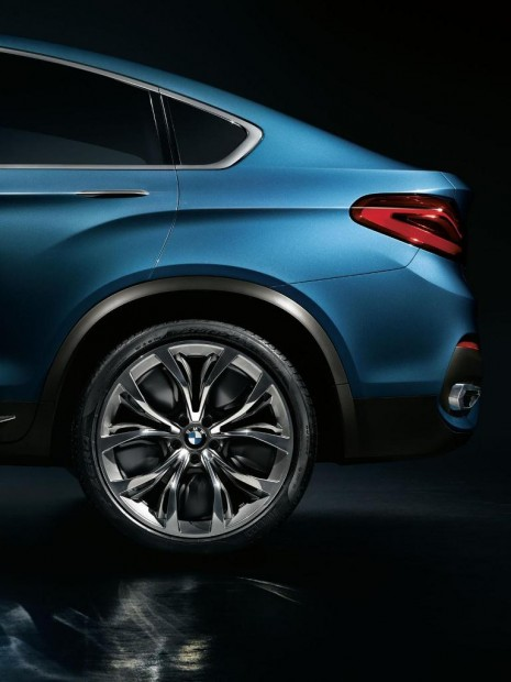 BMW X4 Concept en Video