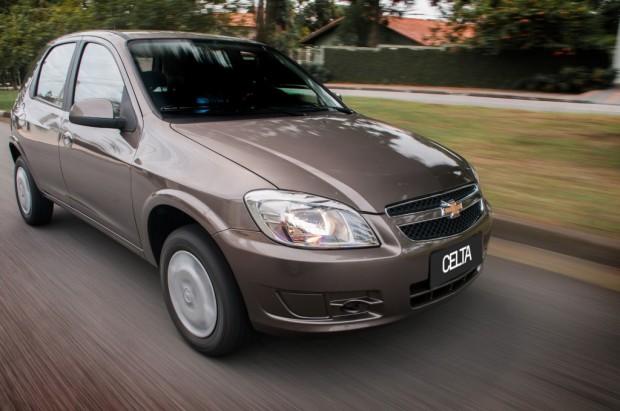 Chevrolet Celta 2014 con mas equipamiento de seguridad