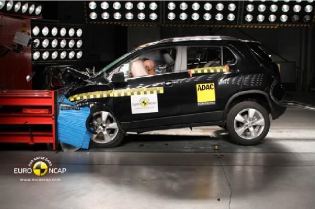 El Chevrolet Trax obtiene las 5 estrellas en la EuroNcap